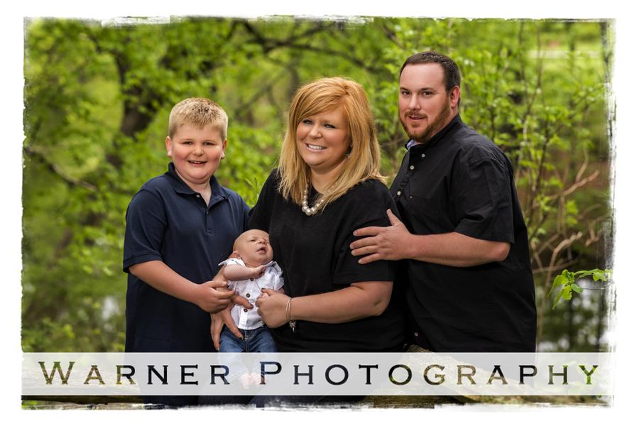MacKinnon Family Portrait at Dow Gardens