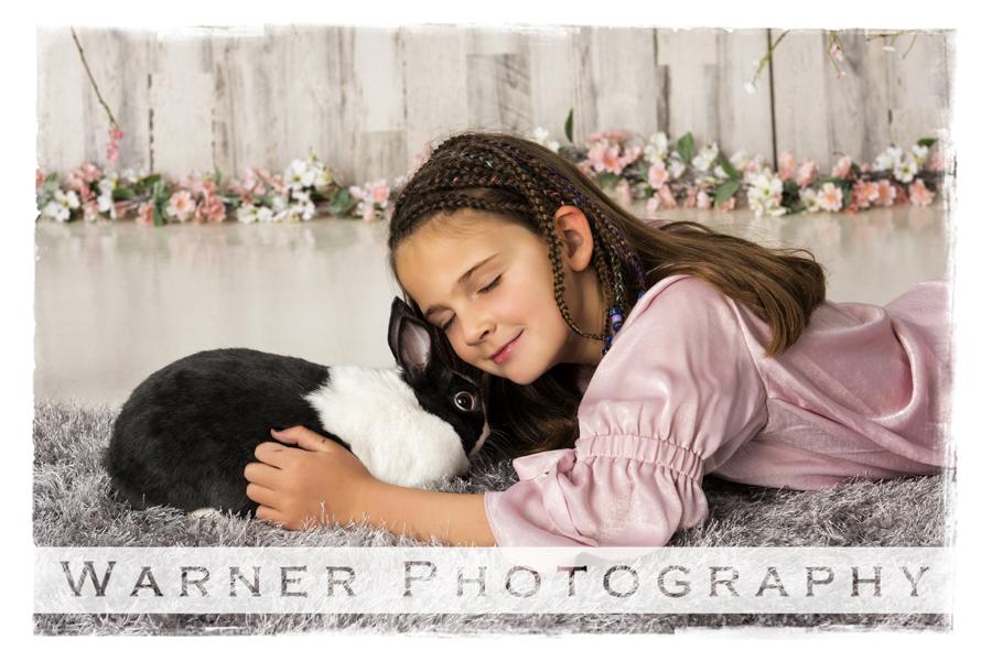 Holiday, Easter, Amelia, bunnies, bunny, spring, flowers, studio