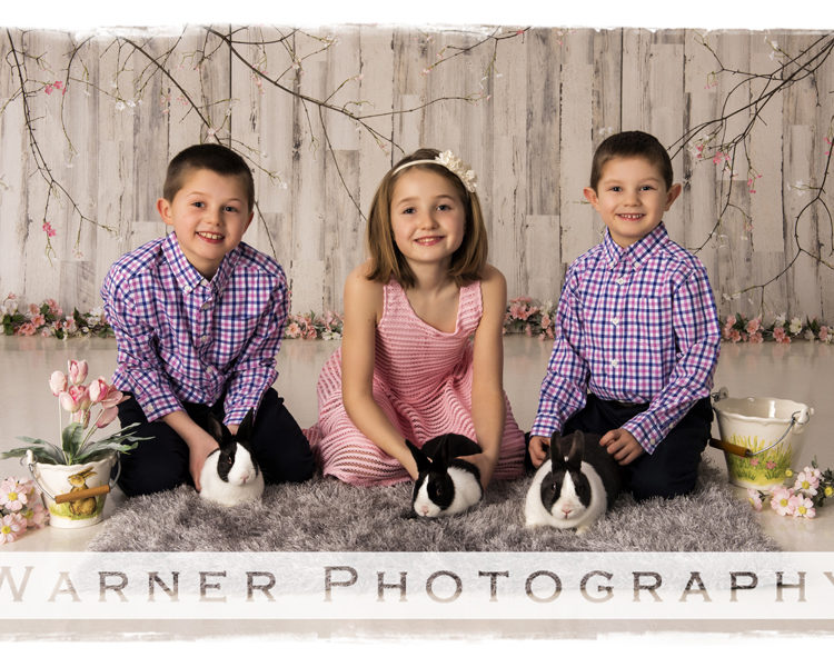 Hannah, Ben and Drew-Easter-Picture