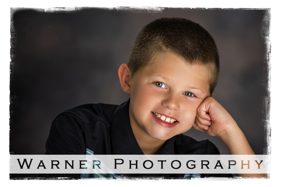 Studio portrait of Ben for his Back to School session