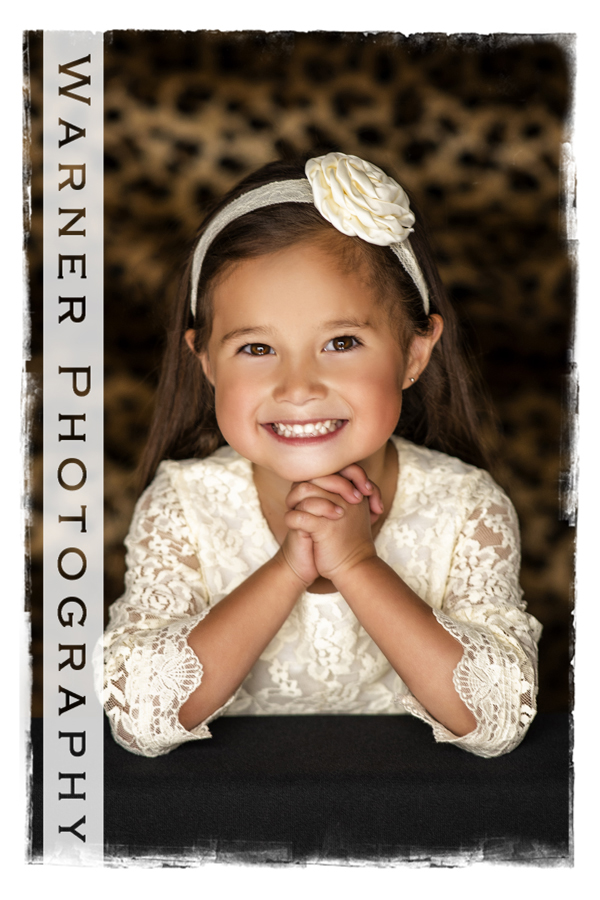 a studio portrait of Gweneth for her Back to School Session