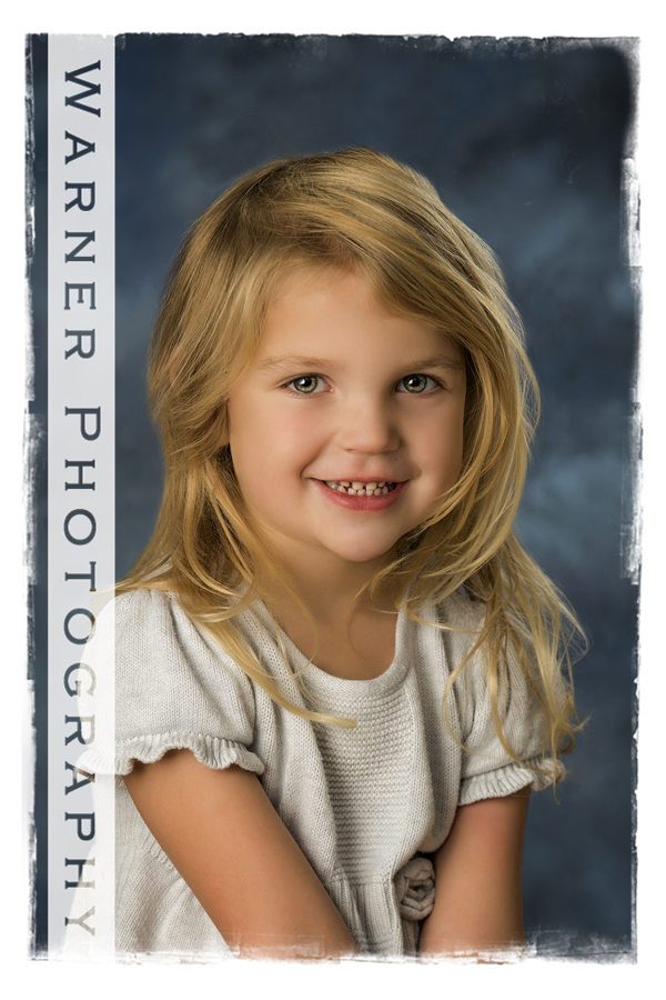 studio portrait of Abby for Back to School