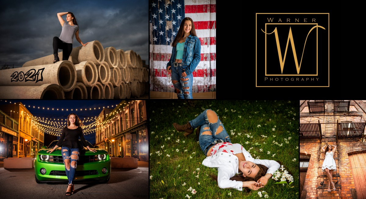 a collage of Dow High School senior Morgan