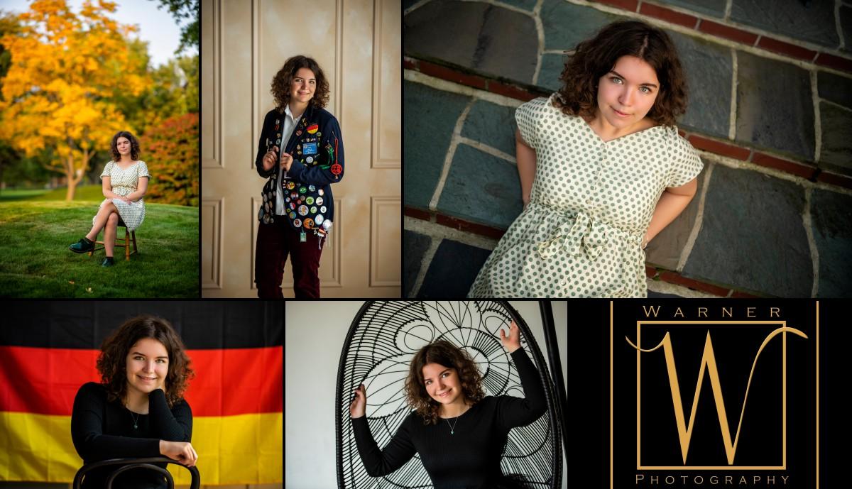 a collage of Dow High School senior Allison
