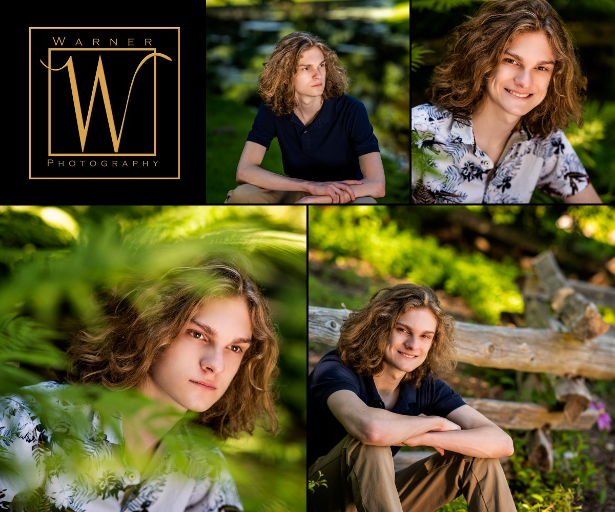 a collage of Dow High Senior Jack