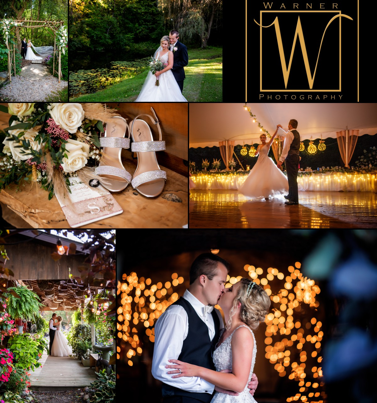 an on location wedding at Everlastings in the Wildwood